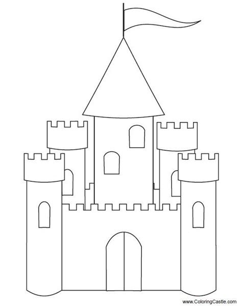 cardboard castle template google search castle