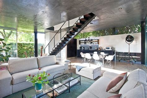 industrial home interior 10 contemporary rooms with concrete ceiling
