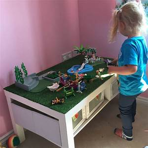 Lack Tisch Hack : ikea lack coffee table 39 hack 39 for little lady 39 s playmobil kids in 2019 ~ Yasmunasinghe.com Haus und Dekorationen