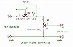 Passive Bass Booster Circuit Diagram