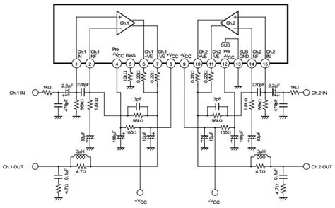 audio system cap20 in two lifier wiring diagram