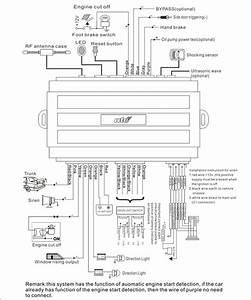 Car Security System Wiring Diagram
