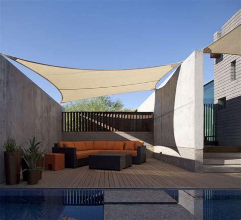 shade sail patio modern patio inspiration