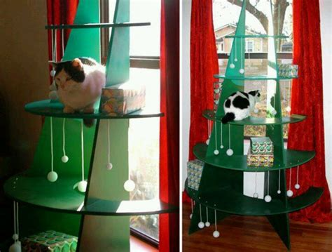 cat safe christmas tree kittehs pinterest