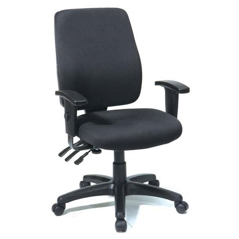 Bodybilt Chair Adjustment by High Back Dual Function Ergonomic Chair With Ratchet Back