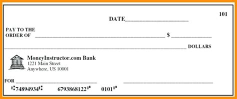 blank check templates for microsoft blank check templates for excel virtuart me