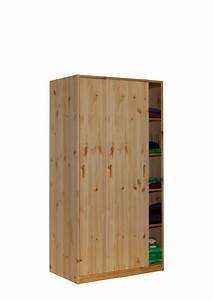 Kleiderschrank 220 Cm Hoch : kleiderschrank mit schiebet ren kiefer massivholz h he 171 cm breite 89 cm direkt vom ~ Bigdaddyawards.com Haus und Dekorationen