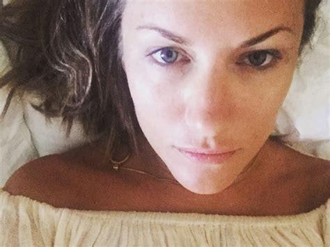 celebrities  makeup  fave bare faced beauties