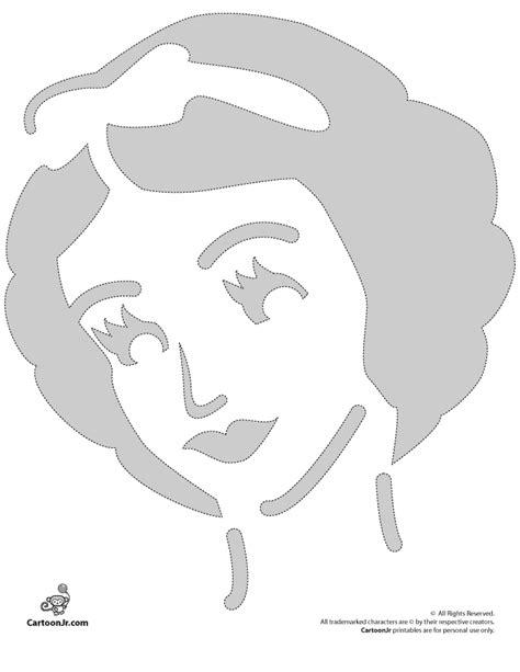 snow white disney princess pumpkin stencil woo jr kids