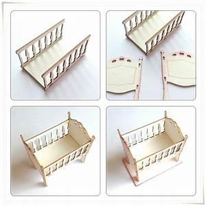 Baby Wiege Bett : embellishments verzierungen laser cut chipboards 3d ~ Michelbontemps.com Haus und Dekorationen