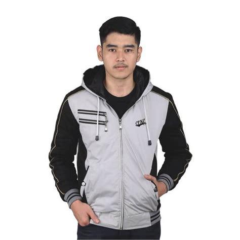 jual jaket sweater hoodie pria blacksilver ctnz di lapak norman wiratsongko normanwr