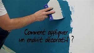 comment appliquer un enduit decoratif youtube With appliquer un enduit decoratif