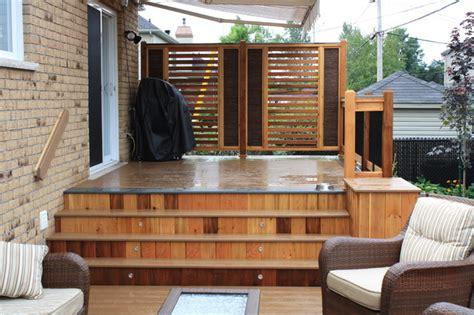 custom trex decks patios contemporary deck montreal