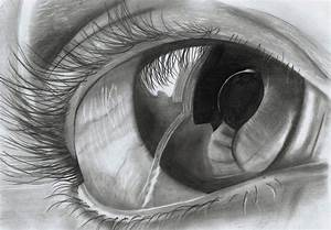 Realistic eye (Pencil on paper) by ShinzaK on DeviantArt