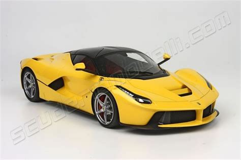 ferrari yellow and black bbr models 2013 ferrari ferrari laferrari yellow black