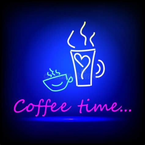 Choose from 1000+ coffee icon graphic resources and download in the form of png, eps, ai or psd. Coffee Blue Glowing Neon Icon. Glowing Sign Logo Stock Vector - Illustration of illustration ...