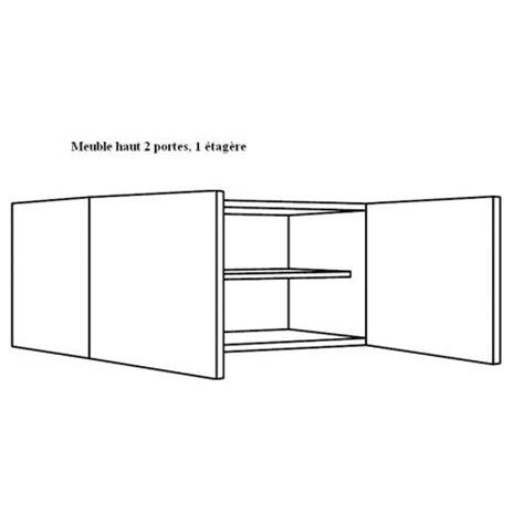 meuble cuisine largeur 45 cm meuble haut de cuisine largeur 90cm 2 portes