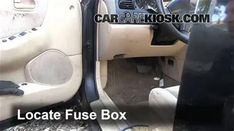 Mazda 6 Interior Fuse Box Cover by Interior Fuse Box Location 1998 2002 Mazda 626 1998
