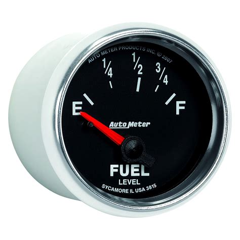 auto meter  gs series   fuel level gauge