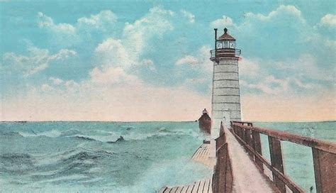 grand haven lighthouse michigan  lighthousefriendscom