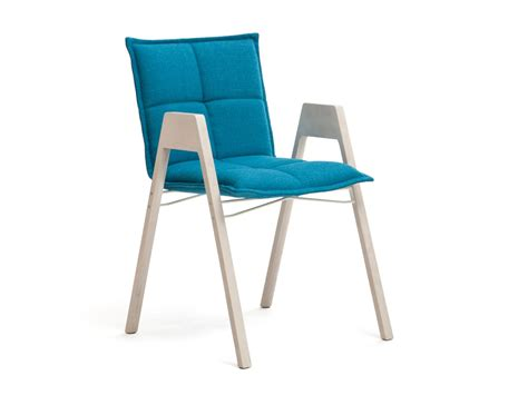 stackable chair with armrests lab collection by inno