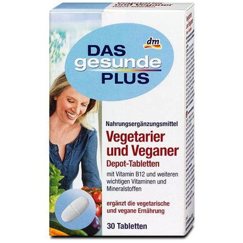 vitamine für veganer das gesunde plus vegetarier und veganer depot tabletten