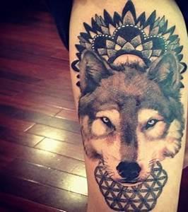 Loup Tatouage Signification : tatouage loup les meilleures id es pour un tattoo loup ~ Dallasstarsshop.com Idées de Décoration
