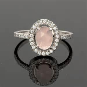 quartz engagement rings vintage quartz engagement ring in by julietandoliver