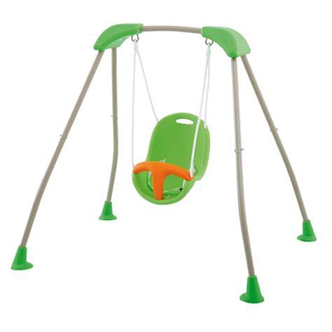 portique bébé pliable métal et siège plastique baby k