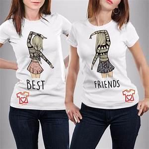 playeras personalizadas para mejores amigas best friends diy Pinterest Amigos, Chicas y