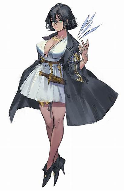Character Anime Female Inspiration Characters Fantasy Dnd