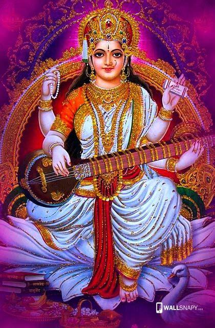 hindu god saraswati hd wallpapers kalai vani mobile