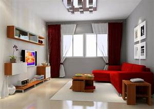 red and gray living room dgmagnetscom With gray and red living room interior design