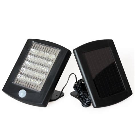 solar powered infrared sensor security light 36 led