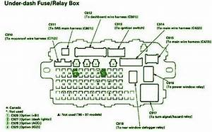 1999 Honda Hrv Under Dash Fuse Box Diagram  U2013 Auto Fuse Box