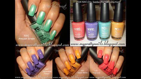 new nail colors nyc new york color limited edition city samba nail