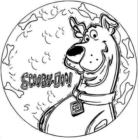scooby doo coloring page scooby doo coloring pages wecoloringpage