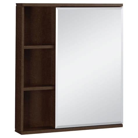 Glacier Bay Bathroom Storage Cabinet by Glacier Bay 23 In W X 27 1 2 In H Framed Surface Mount