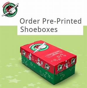 Order Pre Printed Shoeboxes Operation Christmas Child