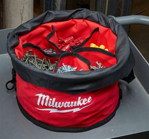 milwaukee parachute organizer  bucket organizer wrap