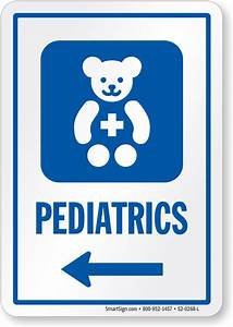Pediatrics Signs | Pediatrics Door Signs