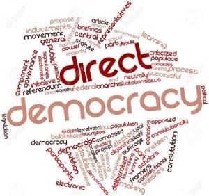 Indirect Democracy Symbol   Image Mag