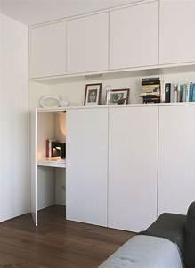 Schreibtisch Im Schrank Verstecken : bildergebnis f r arbeitsplatz im wohnzimmer verstecken einrichten und wohnen pinterest ~ Markanthonyermac.com Haus und Dekorationen