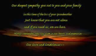 Grandmother Condolences Messages Loss Death