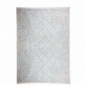 tapis blanc et bleu 4 idees de decoration interieure With tapis blanc et bleu