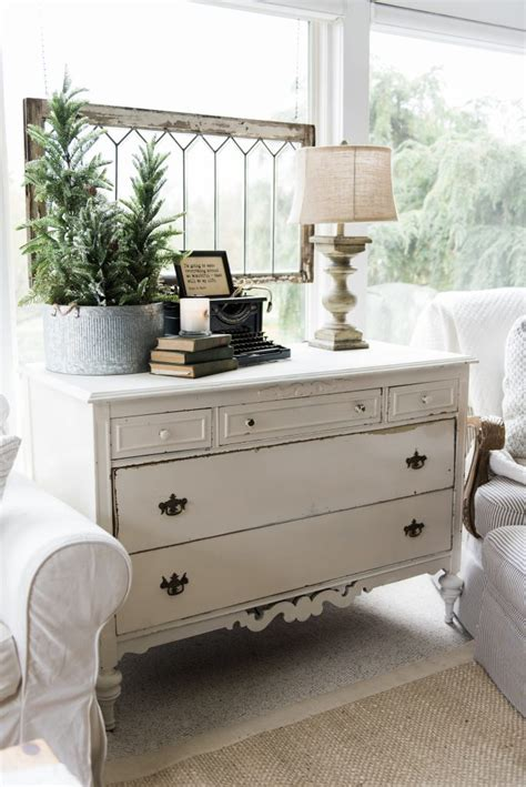 How To Style A Dresser by A New Dresser In The Sunroom Liz