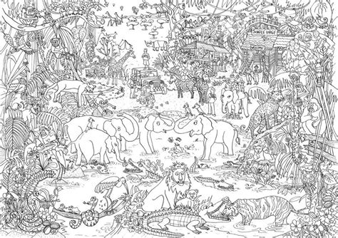 Coloring Jungle by Jungle Let S Color Coloring Pages Color