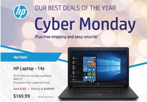 Best Deals Cyber Monday by Best Cyber Monday 2018 Laptop Deals Apple Dell Hp And