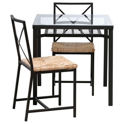 A bistro table is a small piece of outdoor furniture that is perfect for small spaces, like balconies or patios. Get a Nice Spot in Your Garden or Patio by Decorating an IKEA Bistro Set - HomesFeed
