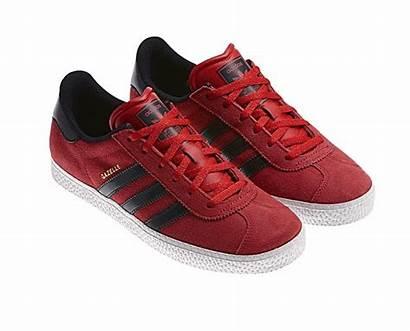 Adidas Gazelle Junior Rojo Negro Vermelho Preto